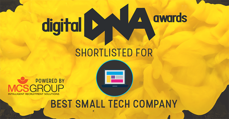 Digital DNA Awards – We have been Shortlisted!