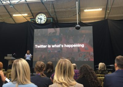 DigtialDNA 2018 - Aoife Caulfield -Twitter is what's Happening