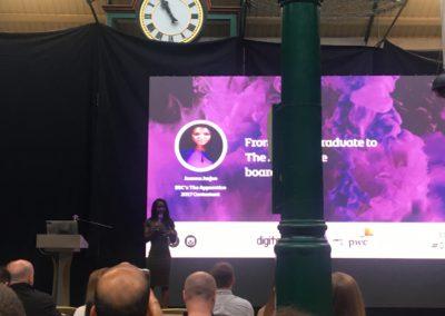 Digital DNA 2018 - Joanna Jarjue - From Digital Graduate to the Apprentice Boardroom