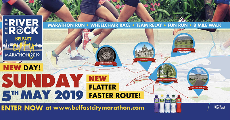 Team Allsop Take on Belfast City Marathon