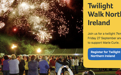 Marie Curie Twilight Walk Northern Ireland