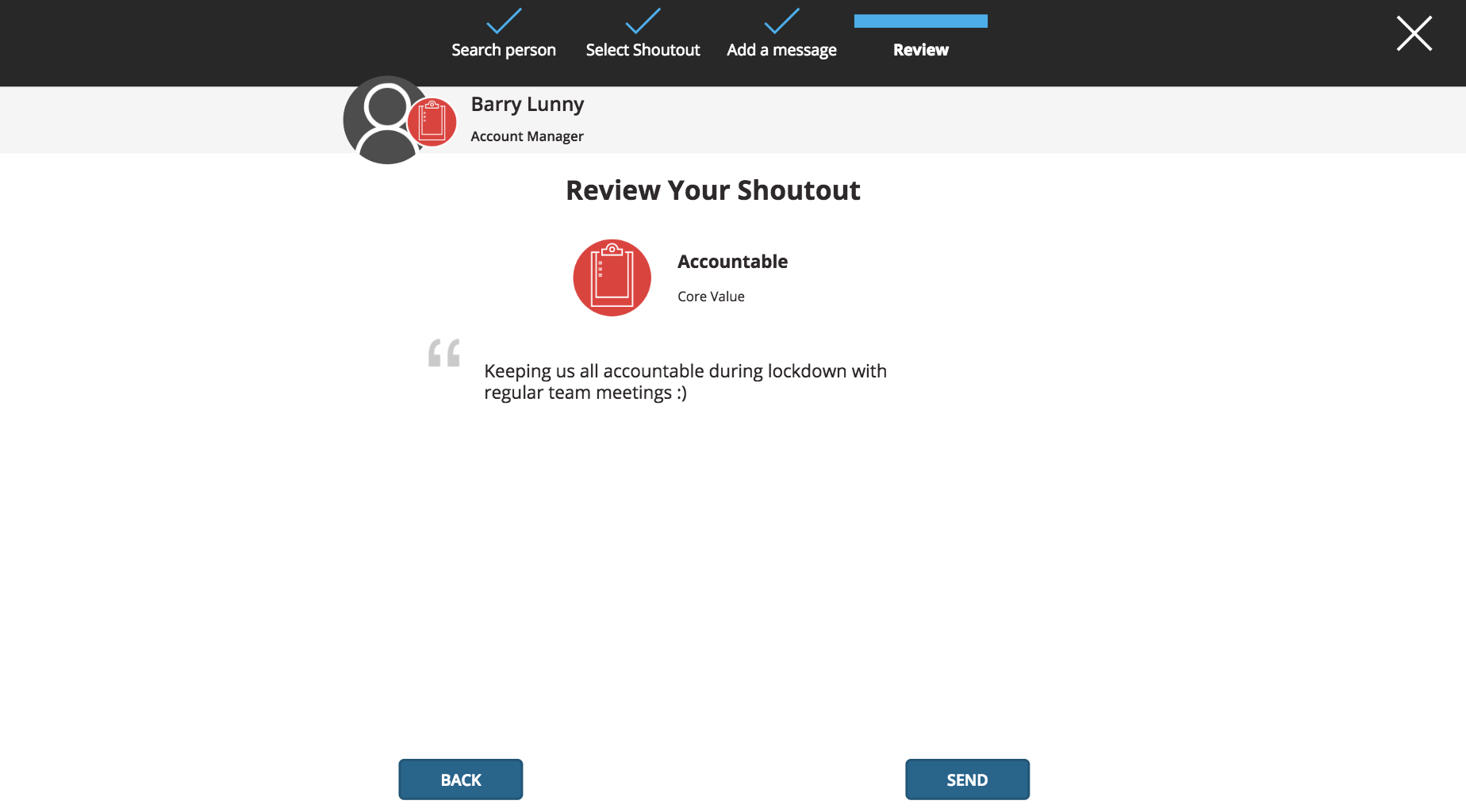 Review Screenshot - Allsop Shoutouts