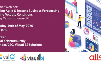 Driving Agile & Instant Business Forecasting During Volatile Conditions