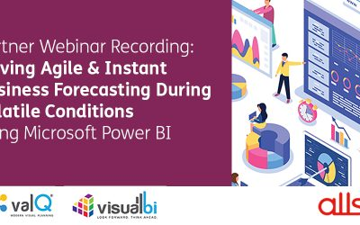Webinar Recording: Driving Agile & Instant Business Forecasting During Volatile Conditions