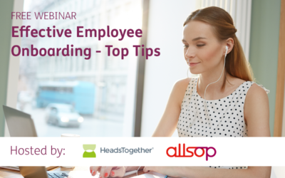 Webinar Recording: Effective Employee Onboarding – Top Tips