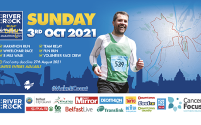 Team Allsop take on Belfast City Marathon